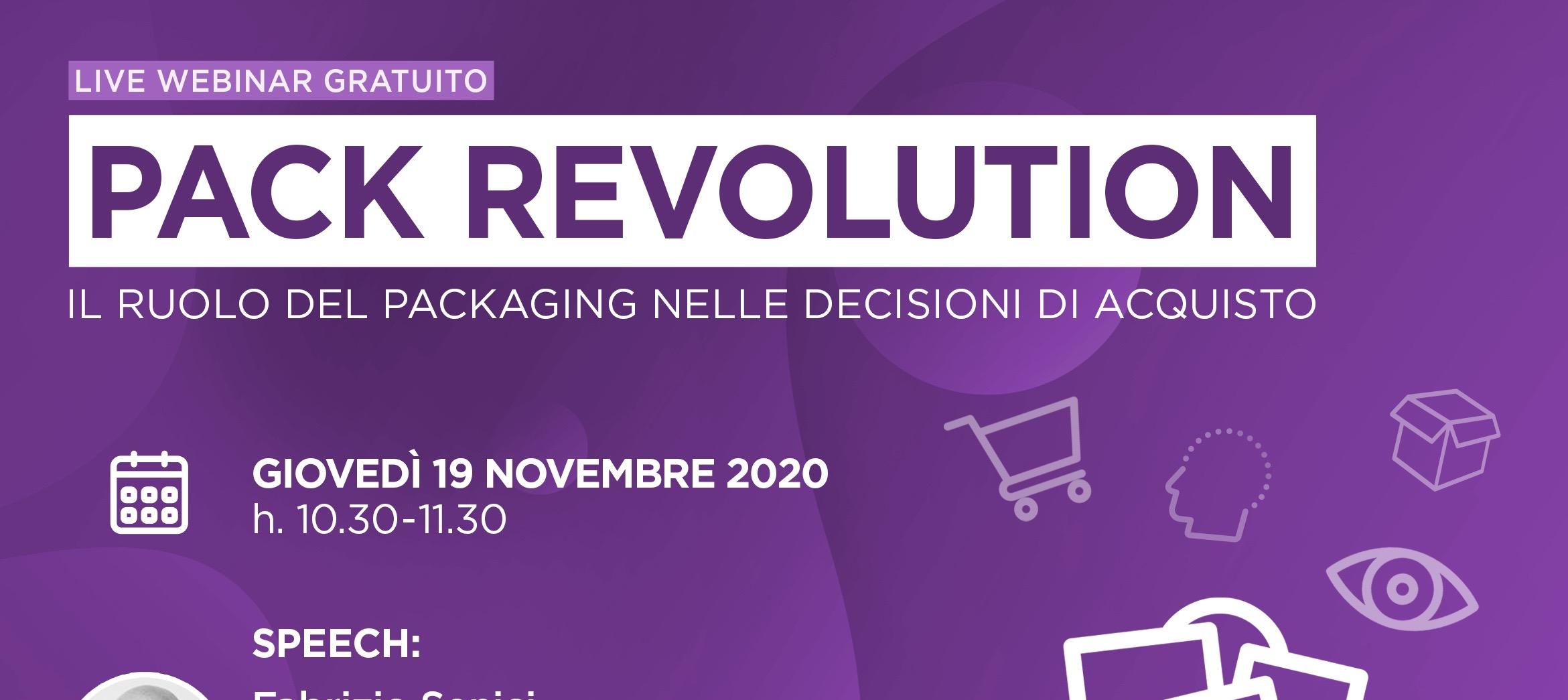 News Socio Aib - WEBINAR: PACKAGING REVOLUTION