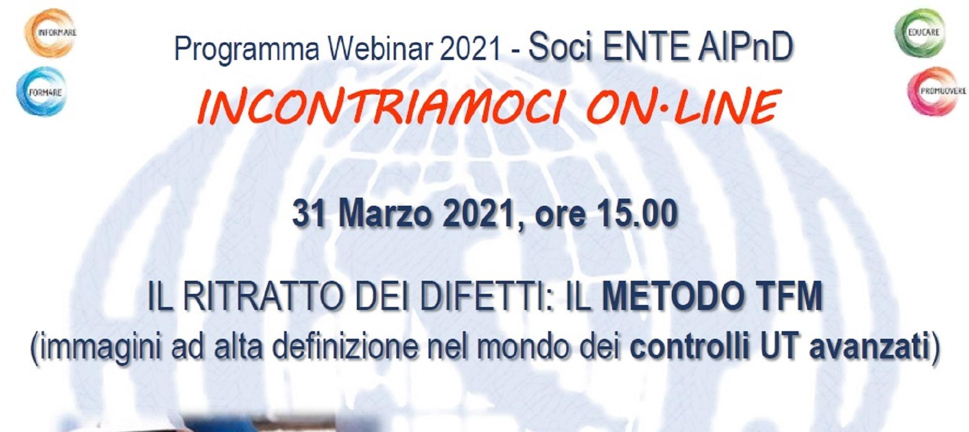 News Socio Confindustria Brescia - Il ritratto dei difetti: il Metodo TFM (31.03.2021)