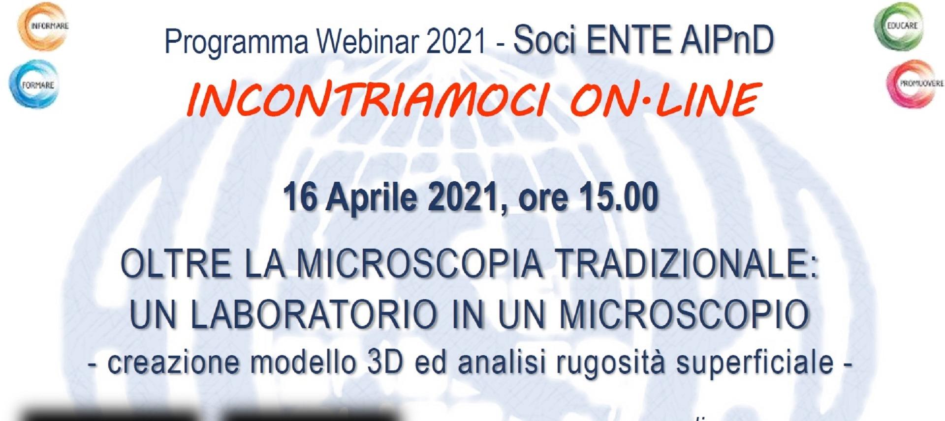 News Socio Confindustria Brescia - Oltre la Microscopia Tradizionale: un Laboratorio in un Microscopio (16.04.2021)